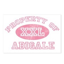 Property-of-Abigale Postcards (Package of 8)