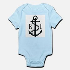 Rhode Island Anchor Baby Outfit
