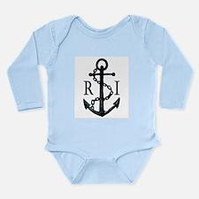 Rhode Island Anchor Baby One Piece