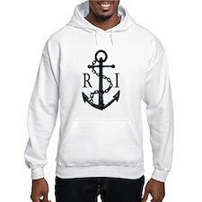 Rhode Island Anchor Hoodie