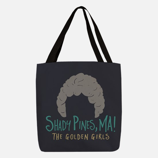 Golden Girls Shady Pines Ma Polyester Tote Bag