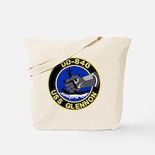 DD-840 USS GLENNON Destroyer Ship Militar Tote Bag