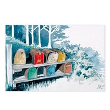 Country lane Postcards (Package of 8)