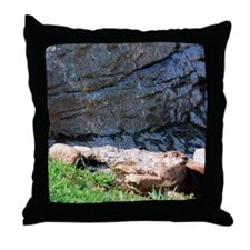 otter1 Throw Pillow