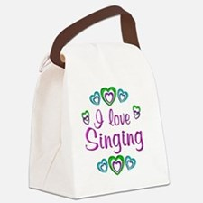 singing Canvas Lunch Bag
