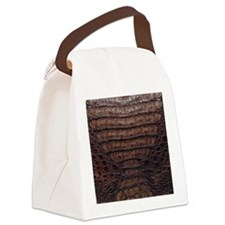gator3_iPad_vertical Canvas Lunch Bag