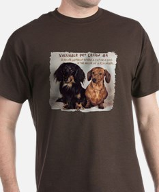 Valuable Pet Lesson #4 T-Shirt