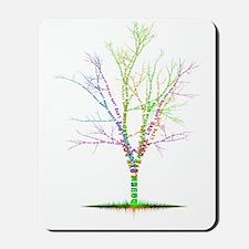 word_tree5bb_2 Mousepad