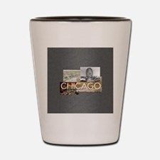 chicagosq2 Shot Glass