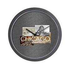 chicagosq2 Wall Clock