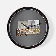 chicagosq2 Wall Clock