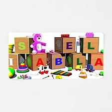 Isabella Aluminum License Plate