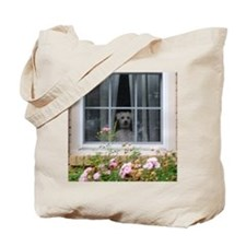 Zak in the window Tote Bag