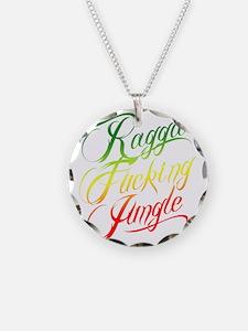 RFJ-Rasta Necklace Circle Charm