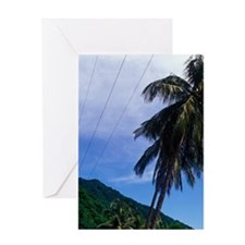 Soufriere, Soufriere Bay, Southern C Greeting Card