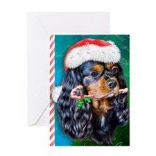 journal King Charels Spaniel Greeting Card