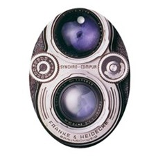TwinLens Oval Ornament
