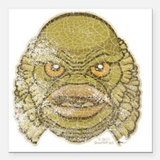 "05_Creature Square Car Magnet 3"" x 3"""