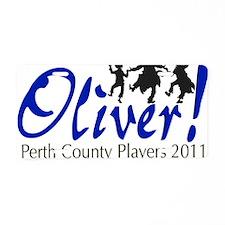 Oliver_Twist_3_CP1 Aluminum License Plate