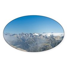 Arthurs Pass National Park. View fr Decal