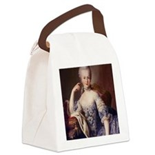 MARIEprint Canvas Lunch Bag