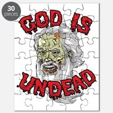 God Is Undead v1 - Red Letters Puzzle