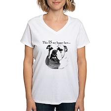 Bulldog Happy Face Shirt