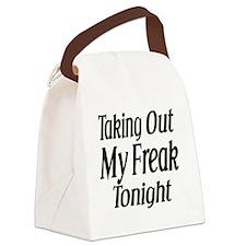 Freak Canvas Lunch Bag