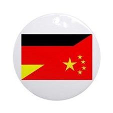 Adopt Flags Germany Ornament (Round)