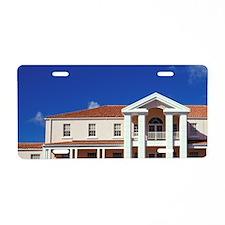 Grenada. St. Georges Univer Aluminum License Plate