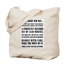 THIS BRIGHT NEW DAY... Tote Bag