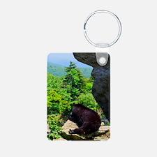 bearjour1 Aluminum Photo Keychain