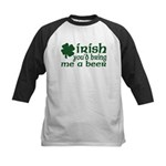 Irish Bring Me a Beer Kids Baseball Jersey