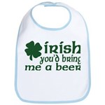 Irish Bring Me a Beer Bib