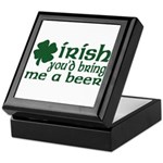 Irish Bring Me a Beer Keepsake Box