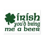 Irish Bring Me a Beer Mini Poster Print