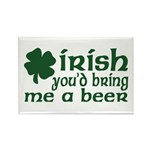 Irish Bring Me a Beer Rectangle Magnet (10 pack)
