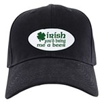 Irish Bring Me a Beer Black Cap