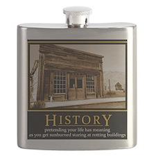 History demotivational poster Flask