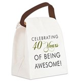 40th birthday Lunch Sacks