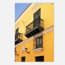Cuba, Havana. Yellow Vale Postcards (Package of 8)