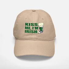Kiss Me, I'm Irish St. Pats Baseball Baseball Cap