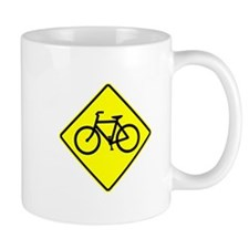 Bike Sign Share the Road Mug