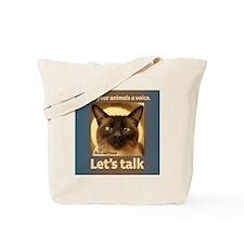 Elvis Lets Talk Tote Bag