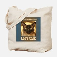 Elvis Lets Talk Tote Bag