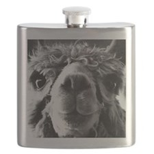 11x11 say cheese Flask