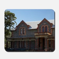Historic Isel House and Spring Flowers,  Mousepad