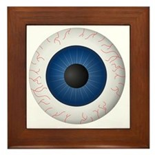Blue Eye Framed Tile