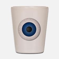 Blue Eye Shot Glass