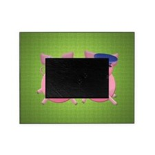 Boy and girl piggies Picture Frame